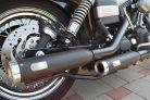 Verstellbare Auspuff Dyna Typ Classic schwarz (z.B. Street Bob)