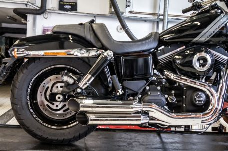 Verstellbare Auspuff Dyna Typ New Design (z.B. Fat Bob; Wide Glide)