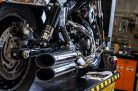 Hohmann adjustable exhaust Dyna Typ New Design; presented byKern