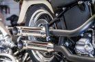 Hohmann adjustable exhaust Softail Typ A; presented byKern