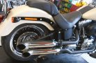 Hohmann adjustable exhaust Softail Typ A; presented byKern