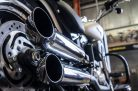 Hohmann adjustable exhaust Softail Typ B_2; presented byKern