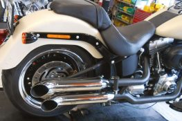 Hohmann adjustable exhaust Softail Typ C/2; presented byKern