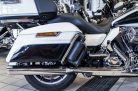 Verstellbare Auspuff Touring schwarz Bj.09-16