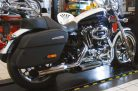 Hohmann adjustable exhaust  Sportster1200; Year built from 2014; presented byKern