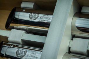 ByKern adjustable exhaust Slip-On's polished