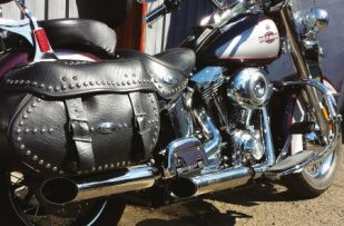 Softail polished